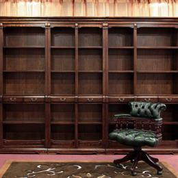 现代 实木书柜书房缩略图