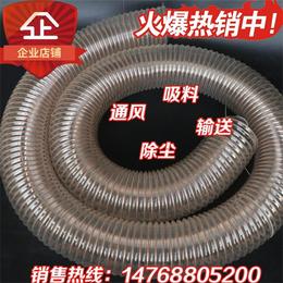 北京门头沟区热销4寸pu钢丝伸缩波纹管14768805200