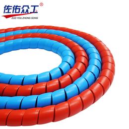 低价新品 高压油管螺旋保护套胶管护套 洗车水管橡胶耐磨保护套