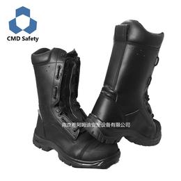 厂家供应优质消防皮靴 消防靴 抢险救援靴 消防员抢险救援皮靴
