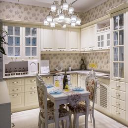 全屋定制实木厨房橱柜