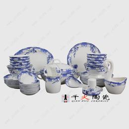 春节员工福利陶瓷餐具厂家 陶瓷餐具批发价格 手绘餐具图片