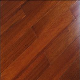 纯实木地板番龙眼钢琴烤漆小菠萝