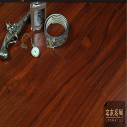 纯天然实木地板圆盘豆绿柄桑零甲醛全A板
