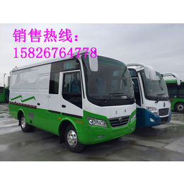 东风超龙6米中巴厢式货车封闭式厢式货车载客式厢式货车厂家