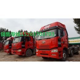 二拖三东风天龙解放j6欧曼重汽拖头车重卡双拖半挂车