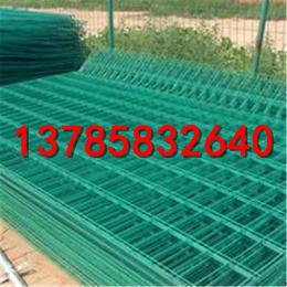 1.8米高苗圃防护网   蔬菜大棚围栏网   绿色浸塑铁丝网