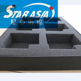 厂家定做海绵EVA内衬包装盒 裱绒海绵填充内胆包装内托海绵