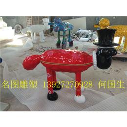 名图玻璃钢雕塑厂广东景观雕塑制品