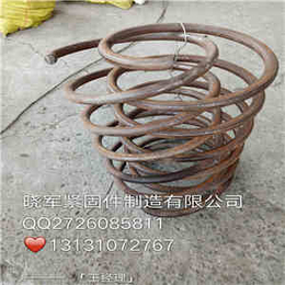 贵州习水精轧螺旋筋25多少钱规格型号晓军精轧螺母锚固板报价
