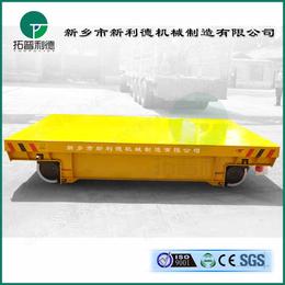上海过跨车CAD图工厂定点运输用电缆卷筒电动平板车结构示意图