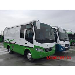 东风超龙厢式运输车6米厂家直销可上蓝牌国五
