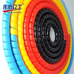 厂家实惠 阻燃抗老化螺旋电线护套 液压橡胶耐磨胶管螺旋保护套