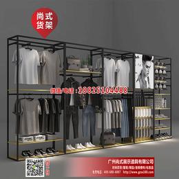 热卖KM服装货架-海澜之家服装架供应商-KM专卖店布置设计