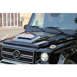 奔驰G级机盖改装G55G500巴博斯机盖饰板brabus包围