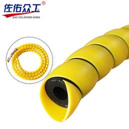 低价批发 抗老化螺旋电线保护套 塑料护套 耐磨油管螺旋护套