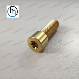 钛合金标准件非标件钛螺钉钛螺栓订制厂家直销梅花槽圆柱头钛螺丝