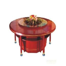 富越实木电动餐桌缩略图