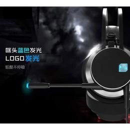 磁动力ZH17网咖吃鸡耳机专用游戏USB7.1声道头戴式耳机