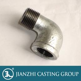 建支管件镀锌内外丝弯头厂价直销质量保证