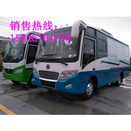 东风超龙6米中巴厢式货车封闭式厢式货车载客式厢式货车图片