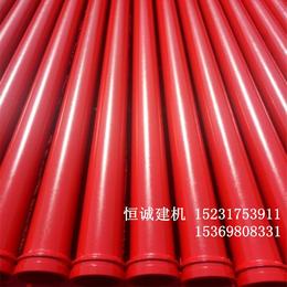3米无缝低压地泵管壁厚4.5管径125厂家价格