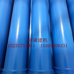 恒诚牌3米无缝低压地泵管砼泵管管径125外径133厂家价格