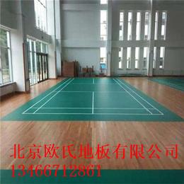 2018北京欧氏地板实木运动地板