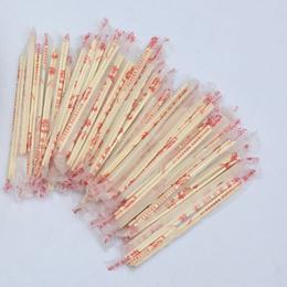 卫生环保方便筷酒店快餐小吃打包圆竹筷