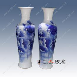 景德镇手绘陶瓷大花瓶批发厂家陶瓷花瓶图片