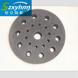 贴标机分瓶海绵轮 加硬EVA圆管 高密度阻燃海绵圆形打孔厂家
