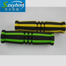 彩色细纹海绵管 运动健身器材保护管 NBR橡胶耐磨材质