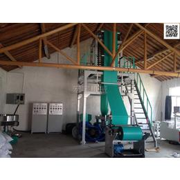 供应优质快递袋生产设备800型双层共挤快递袋吹膜机
