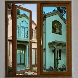 金兰斯盾门窗  38系列铝合金平开窗