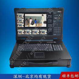 19寸上翻工业便携式电脑加固笔记本军工定制外壳铝