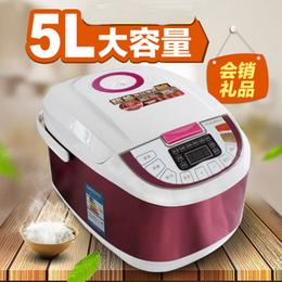 厂家直销多功能5L升智能电饭煲会销礼品家用电饭锅小家电马帮