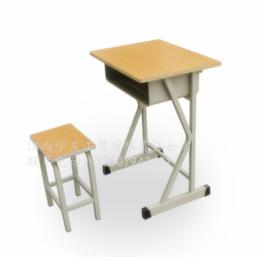 学生课桌椅单人学校培训课桌升降课桌椅