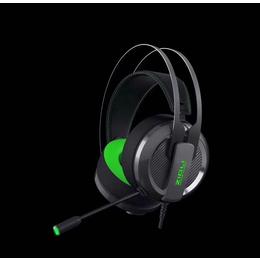磁动力ZH18吃鸡 耳机专用游戏发光 抗暴头戴式耳机