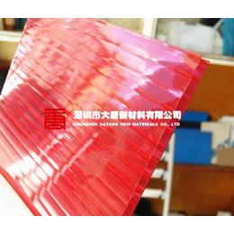 贵阳订做红色阳光板 武汉红色阳光板 成都红色阳光板批发
