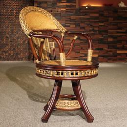 供应厂家直销3008 水草藤餐椅藤艺木椅