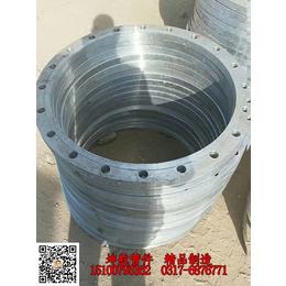 供应坤航管件按客户要求加工国标DN600碳钢板式平焊法兰