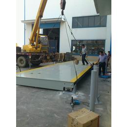 供应特力地磅生产100吨衡器牌子好欢迎选购