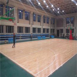 新款北京欧氏地板2018篮球木地板