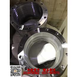 供应坤航可按需求定制DN400不锈钢板式平焊法兰