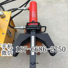 手提式钢筋笼头部弯钩 便携式钢筋液压弯曲机 28型钢筋弯曲机