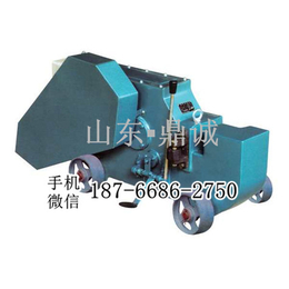 福建泉州电动钢筋切断机 小车式角钢圆钢扁钢槽钢切断器 截铁机