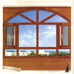 金刚网纱窗批发 100断桥窗纱一体平开窗系列