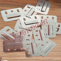 方正不锈钢中号竹木纤维集成墙面安装卡件加厚优质墙板卡片缩略图