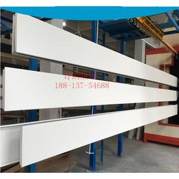 加油站罩棚1个厚铝扣板 吊顶S型防风铝扣板供应厂家