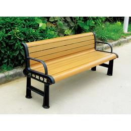 深圳塑钢休闲椅 公园休闲椅靠背椅